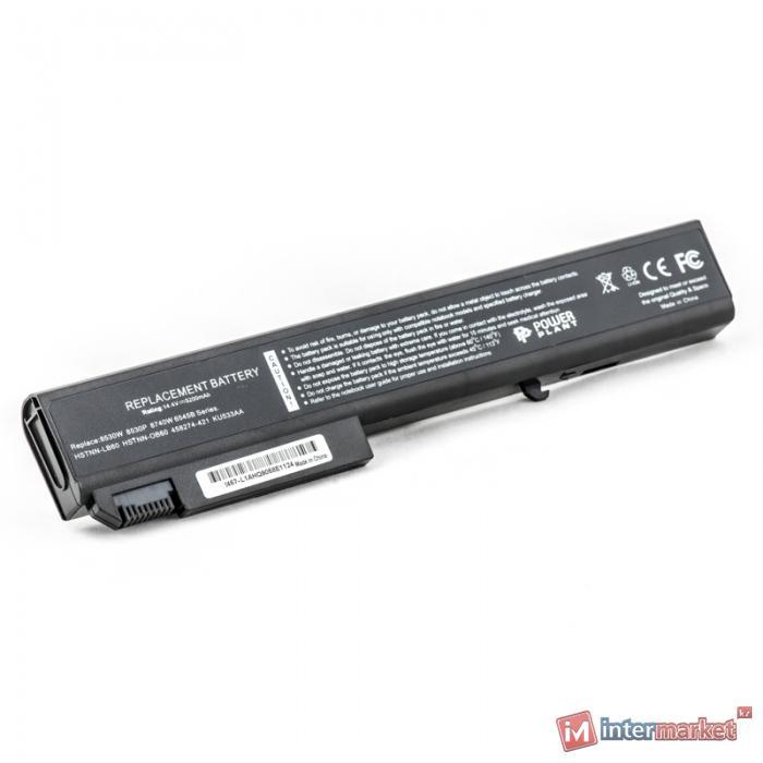 Аккумулятор PowerPlant для ноутбуков HP EliteBook 8530 (HSTNN-LB60, H8530) 14.4V 5200mAh
