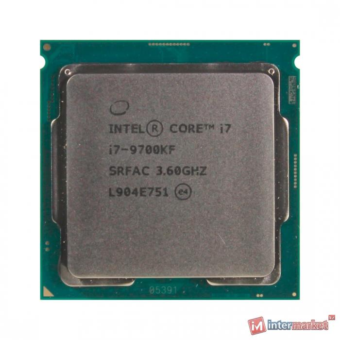 CPU Intel Core i7 9700KF 3,6GHz (4,9GHz) 12Mb 8/8 Core Coffe Lake Tray 95W FCLGA1151