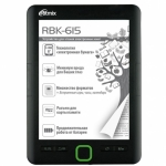 Электронная книга Ritmix RBK-615