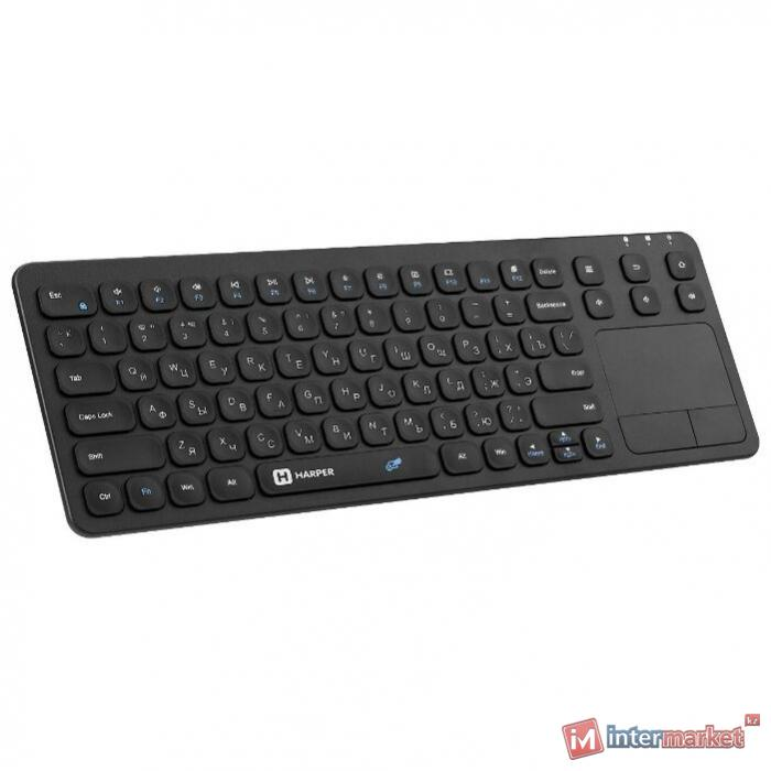 Клавиатура HARPER KBT-570 Black USB