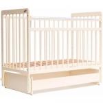 Кровать детская Bambini Евро стиль M 01.10.05 Слоновая кость