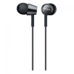 Наушники-вкладыши проводные Sony MDREX150B.E черный