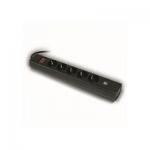 Сетевой фильтр Huntkey SGA607 2*USB 3М, black