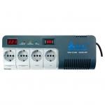 Стабилизатор напряжения однофазный SVC AVR-1012-G (0.72 кВт)